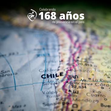 168 años en Chile