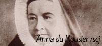 Anna du Rousier rscj