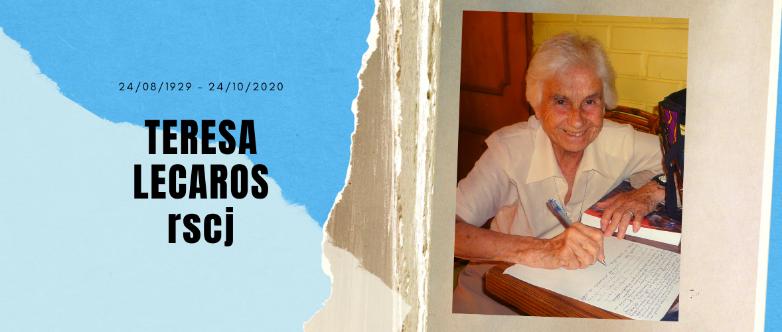 Teresa Lecaros Q.E.P.D